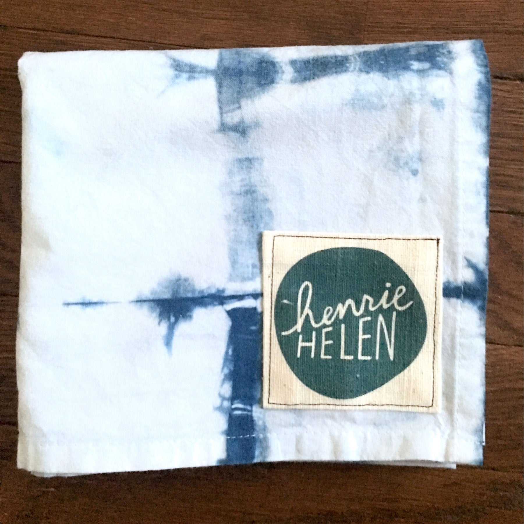 Shibori Tea Towel - No. 8