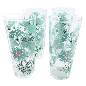 Glass Tumbler Turquoise