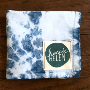 Shibori Tea Towel - No. 7
