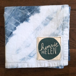 Shibori Tea Towel - No. 4
