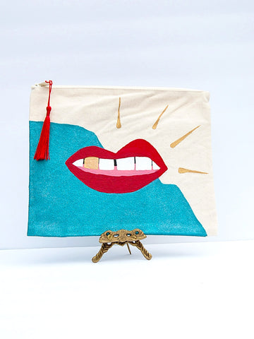 Lip Bag - Teal