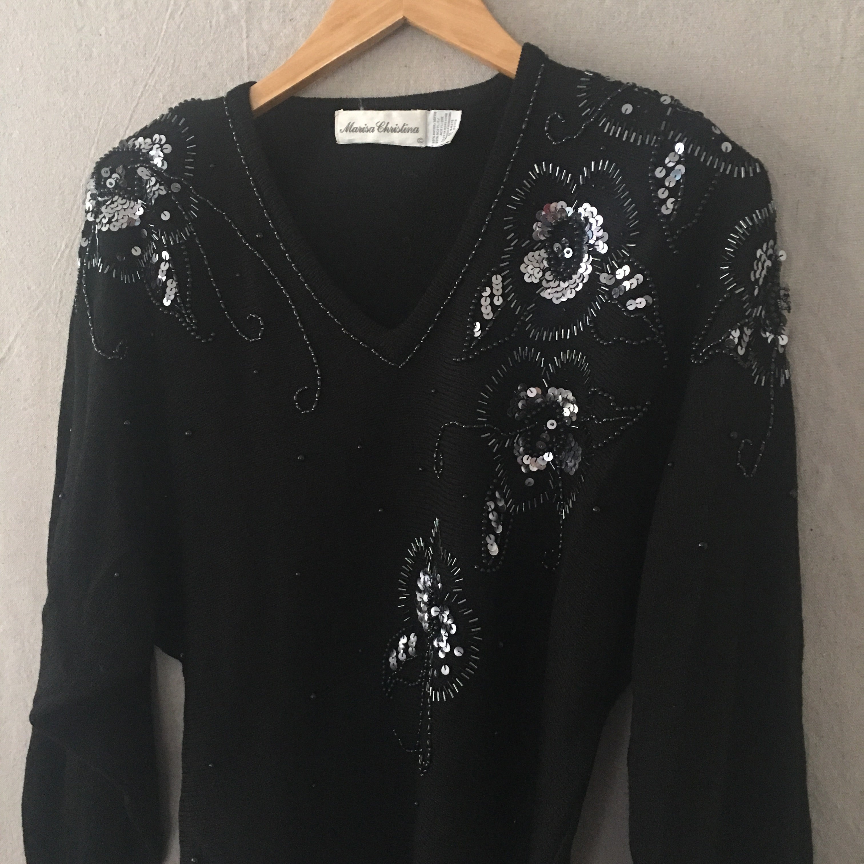 Sequin Sweater