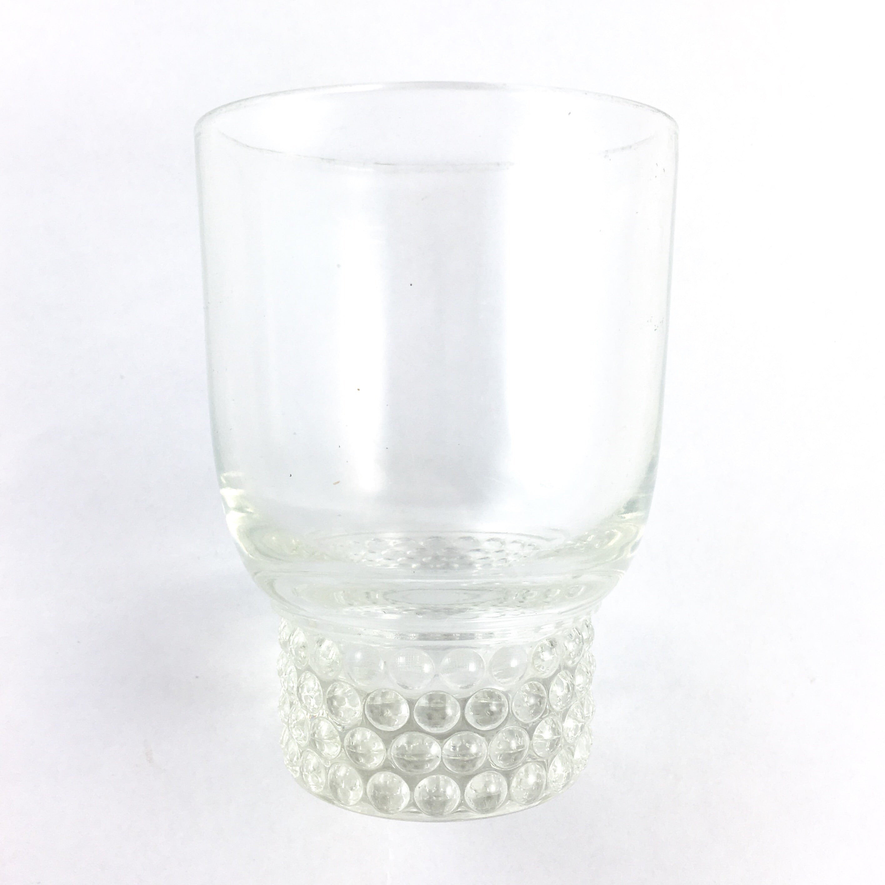 Glass Tumbler Set Hobnail