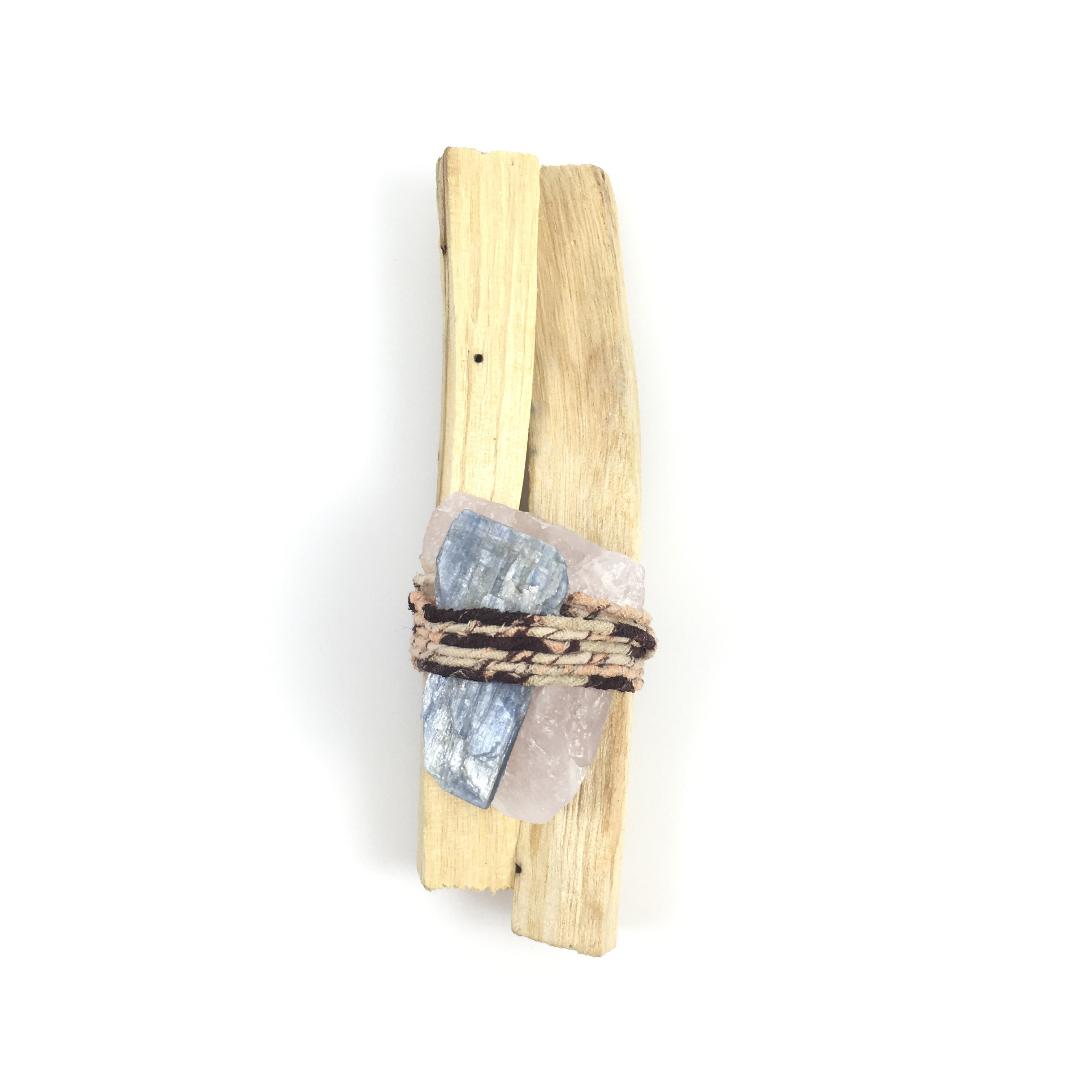 Palo Santo Quartz Smudge Bundle  #05