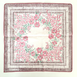 Floral Cacharel Napkins (QTY 4)