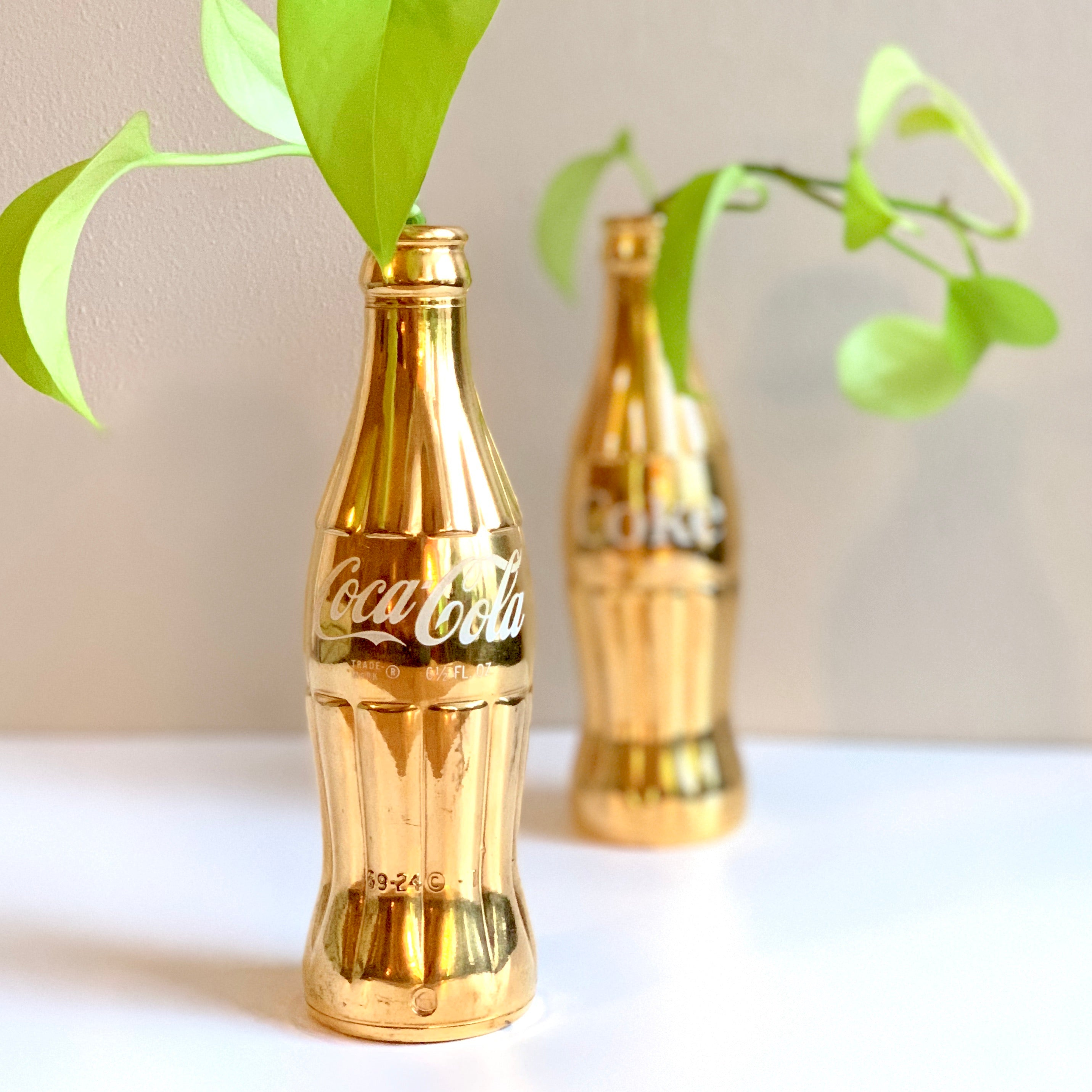 Pop Art Coke Bottle Vase