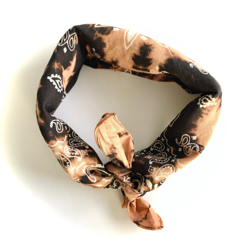 Dyed Bandana - Black