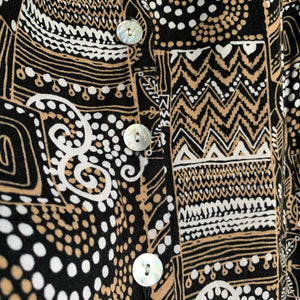 Tribal Print Tank Dress