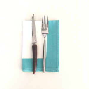 Vintage Turquoise Napkins (Set of 2)