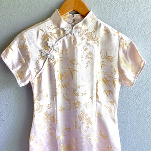 Chinese Cheongsam Dress White