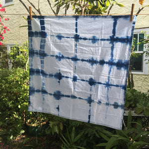 Shibori Tea Towel - No. 10