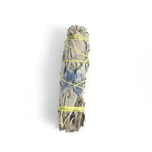 Sage & Quartz Smudge Stick  #04