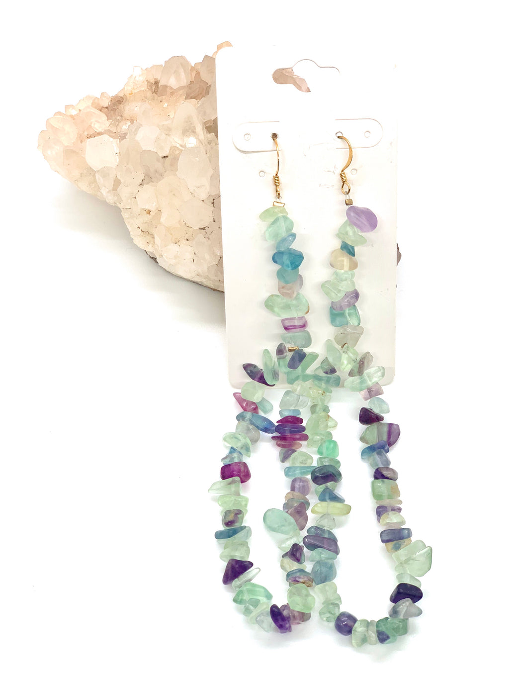 Avalanche Fluorite Earrings