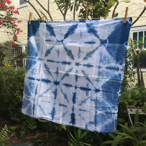 Shibori Tea Towel - No. 11