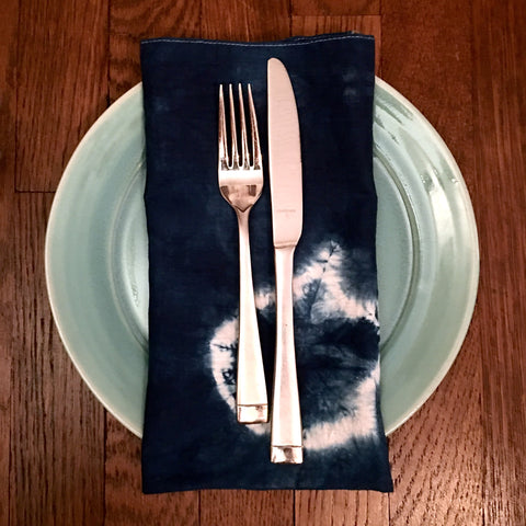 Indigo Dinner Napkin Set - No. 3