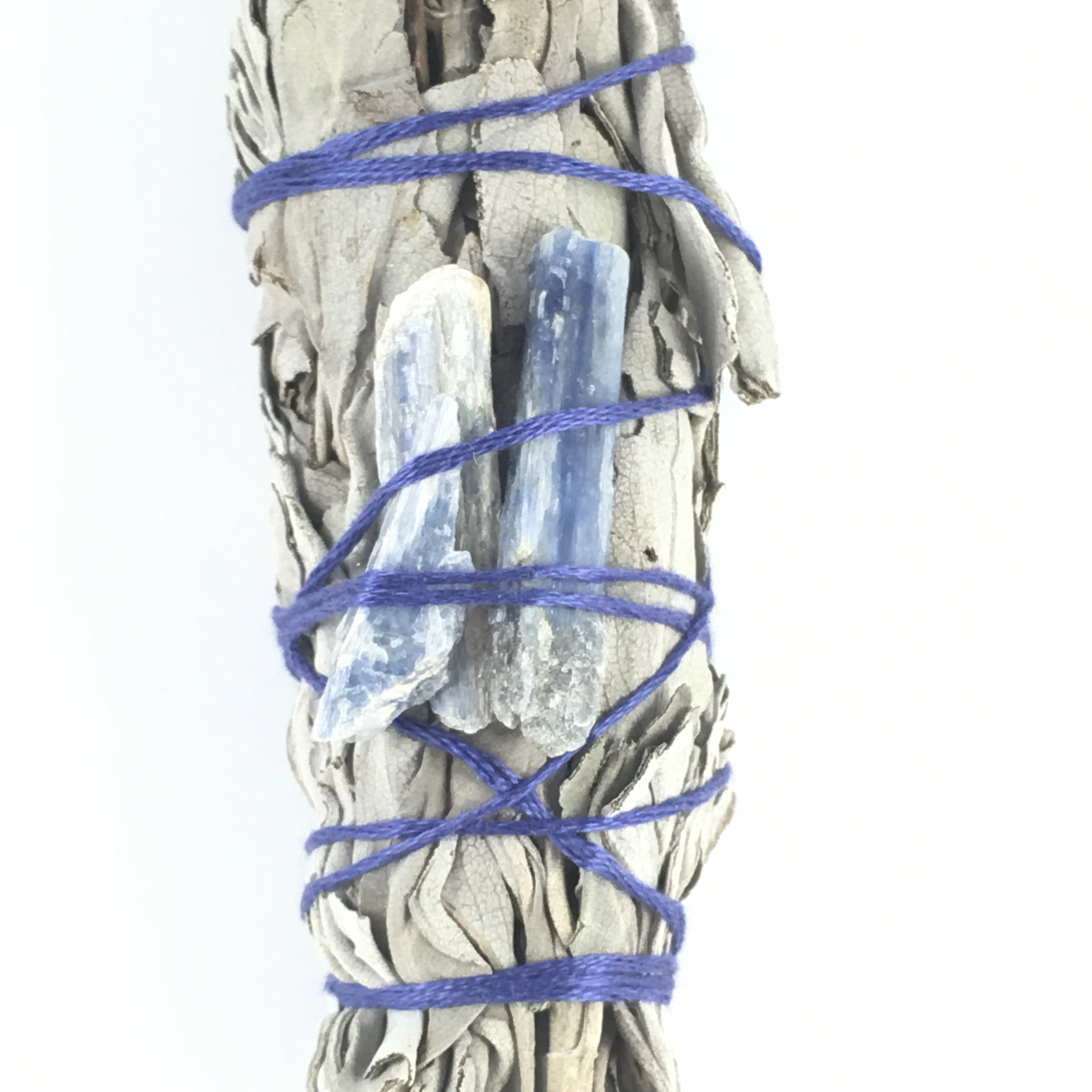 Sage & Quartz Smudge Stick  #05