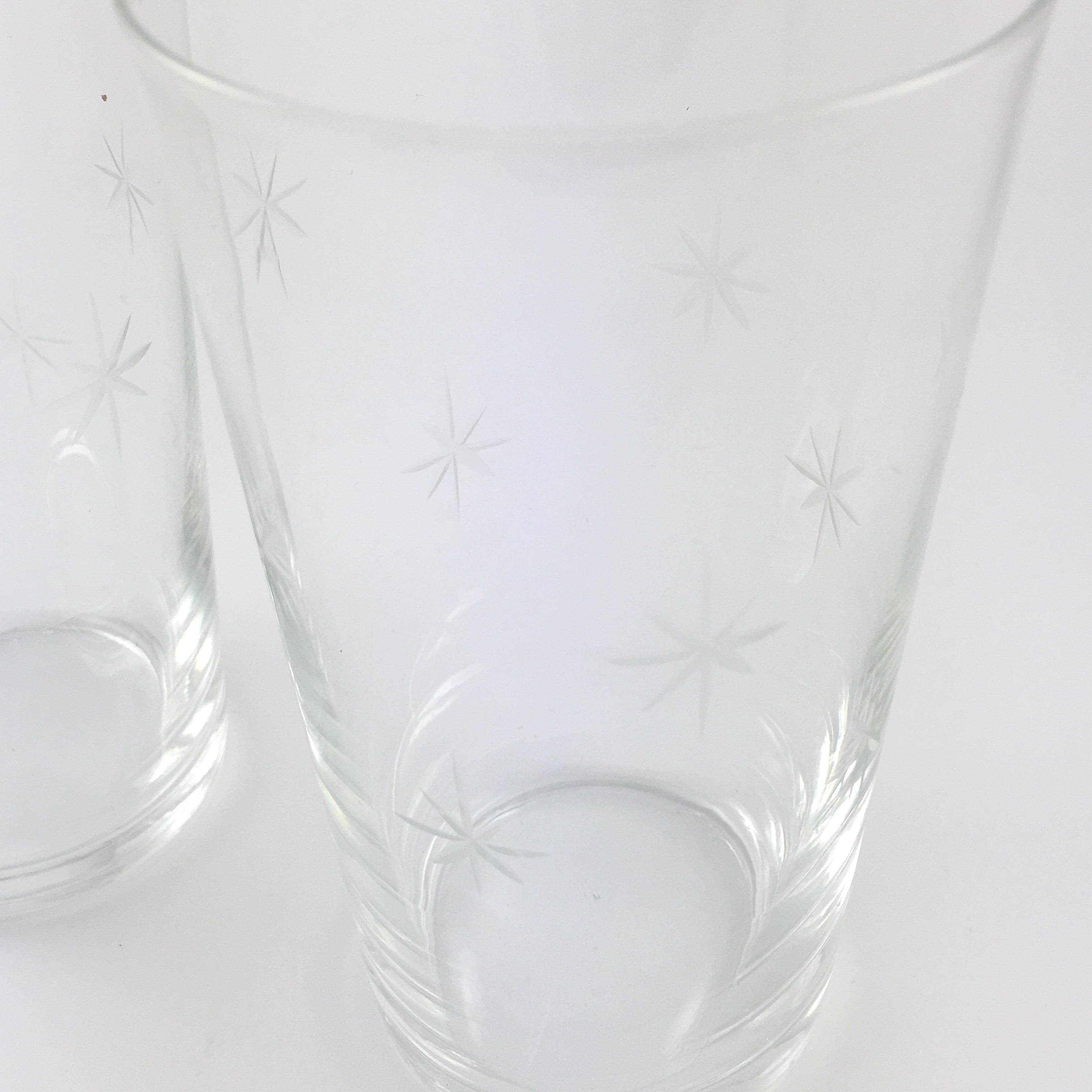 Etched Star Glasses