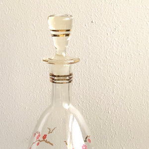 Cherry Blossom Decanter