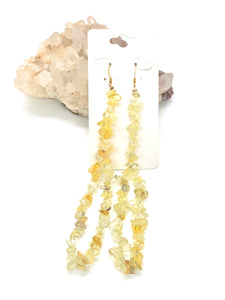Avalanche Yellow Quartz Earrings