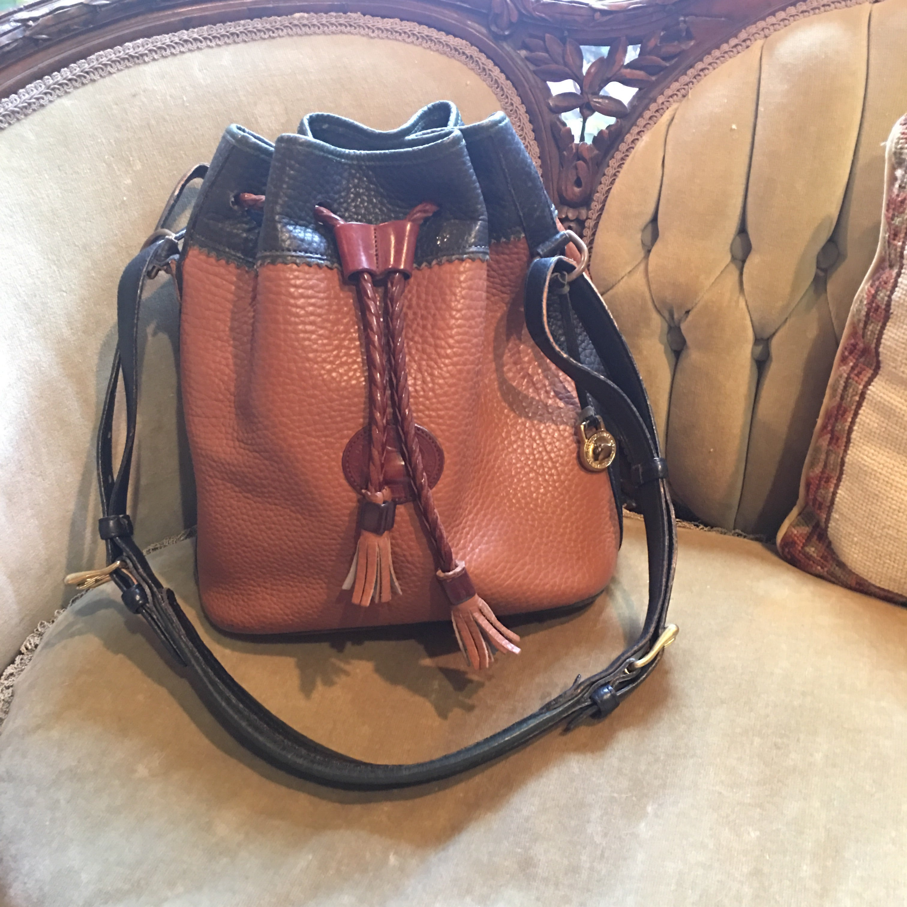 Vintage Dooney & Bourke Bucket Bag