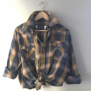 Plaid Shirt - Pearl Snap