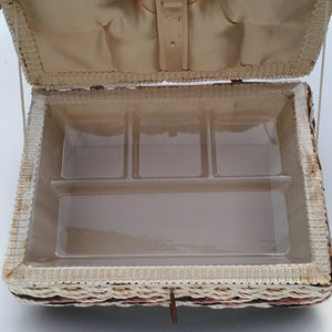 Vintage Sewing Basket - Large