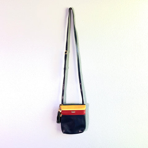 Vintage Leather Crossbody Bag
