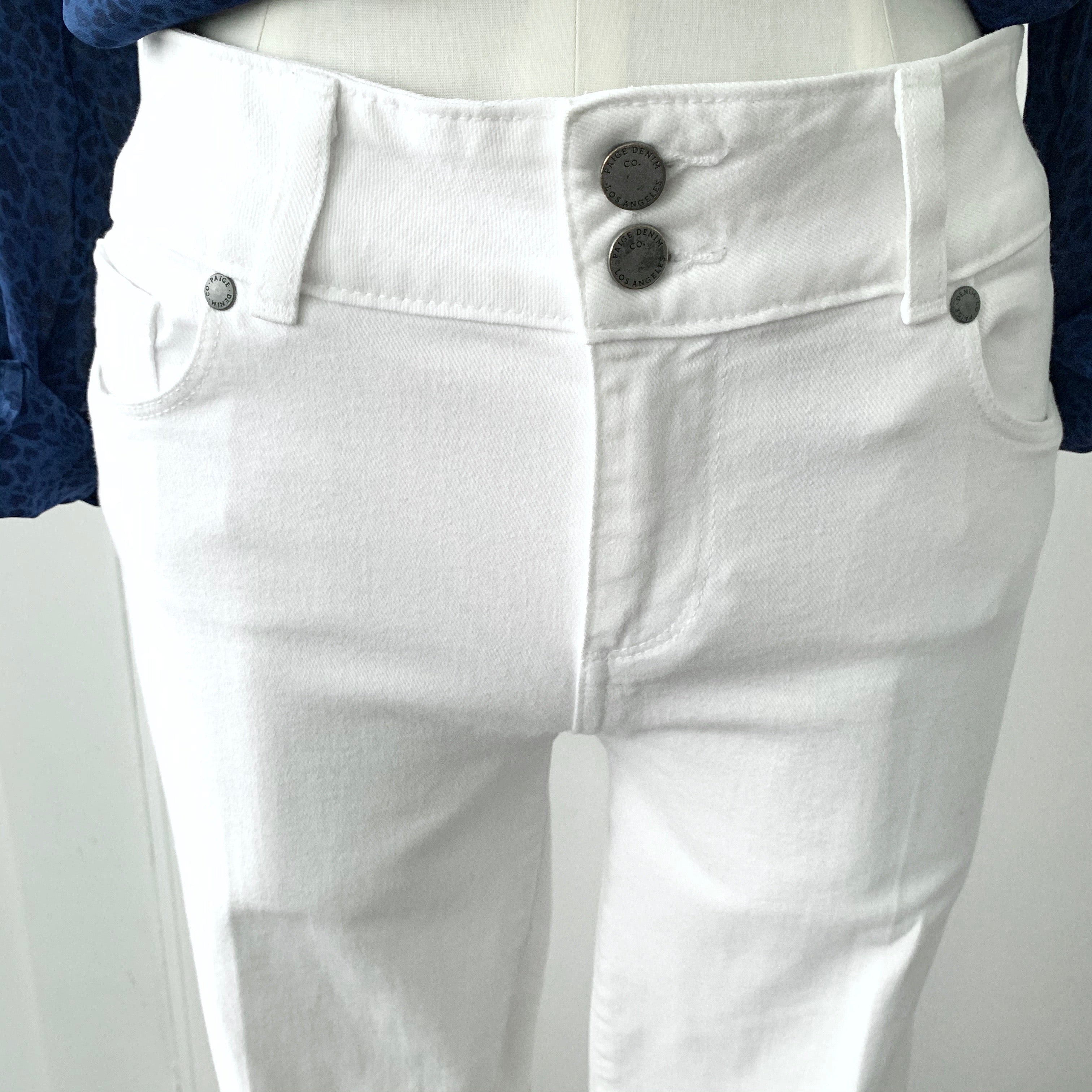 White Paige Skinny's