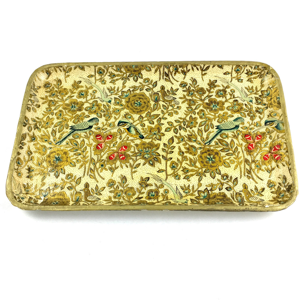 Floral Catchall Tray