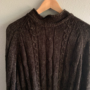 Oversized Chunky Chenille Sweater