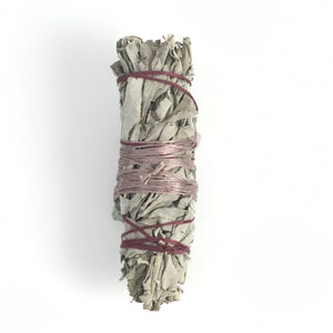 Sage & Quartz Smudge Stick  #02
