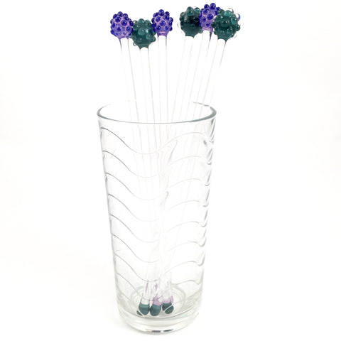 Glass Swizzle Sticks