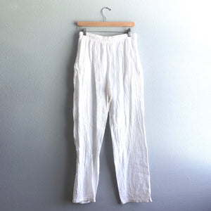 White Surf Pants