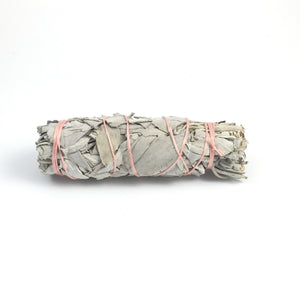 Sage & Quartz Smudge Stick  #06