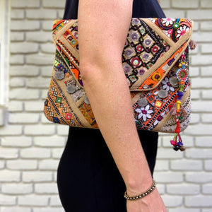 Indian Fabric Purse