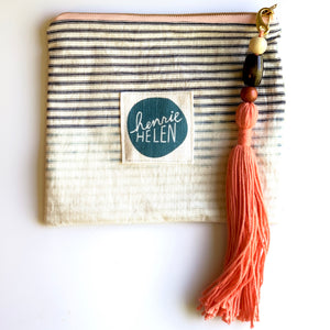 Denim Bag with Muy Grande Tassel #3