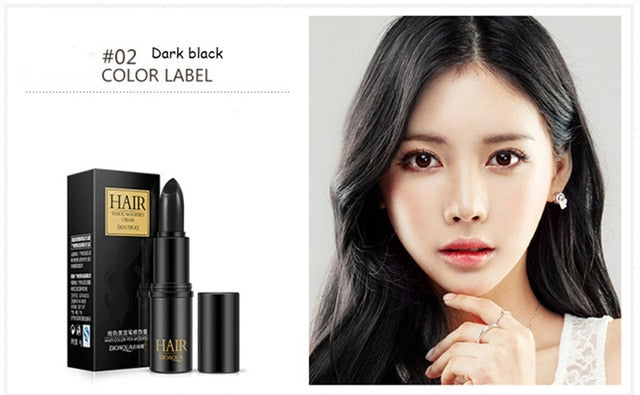 Hair Coloring Products Cover Gray Root Cover Up Powder Black Hair Colo