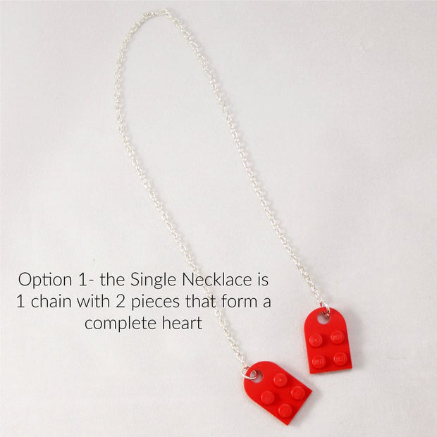 Brick Heart Necklace