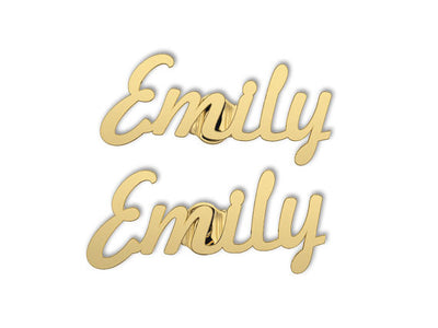 Customizable Name Earrings