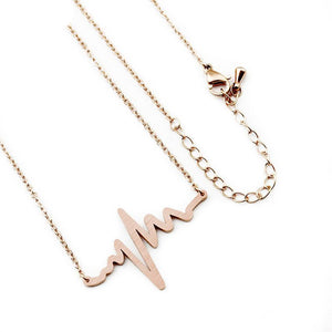 Heartbeat ECG Necklace