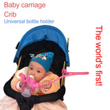 Hands-free Adjustable Baby Bottle, Monitor Camera and Cellphone Holder on Baby Strollers, Bed or Any Furniture-Shopper Baby