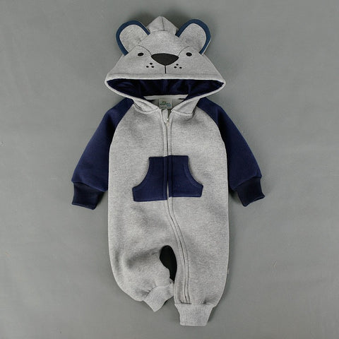 Baby Fox Bear Romper Suit-Shopper Baby