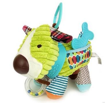 Animal Style Baby Rattles-Shopper Baby