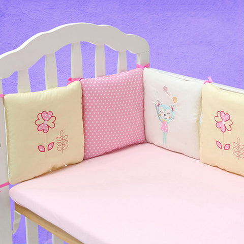 Baby Bed Bumper 6Pcs-Shopper Baby