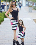 Summer Set Mother and Daughter Match Outfits-Shopper Baby