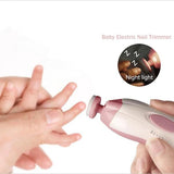 Electric Baby Nail Trimmer-Shopper Baby