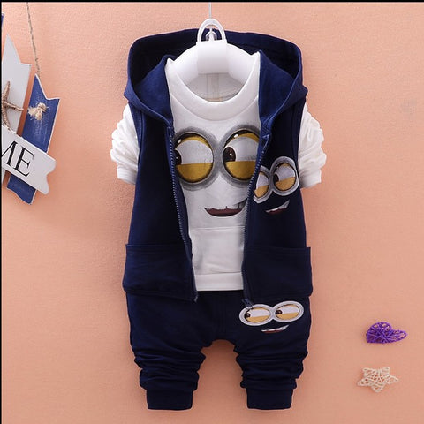 Baby Minion Suits-Shopper Baby