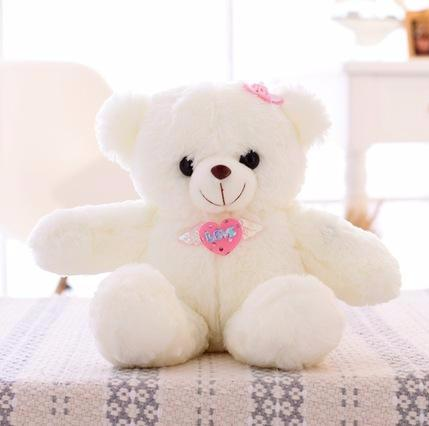 Teddy bear multicolored LED light-Shopper Baby