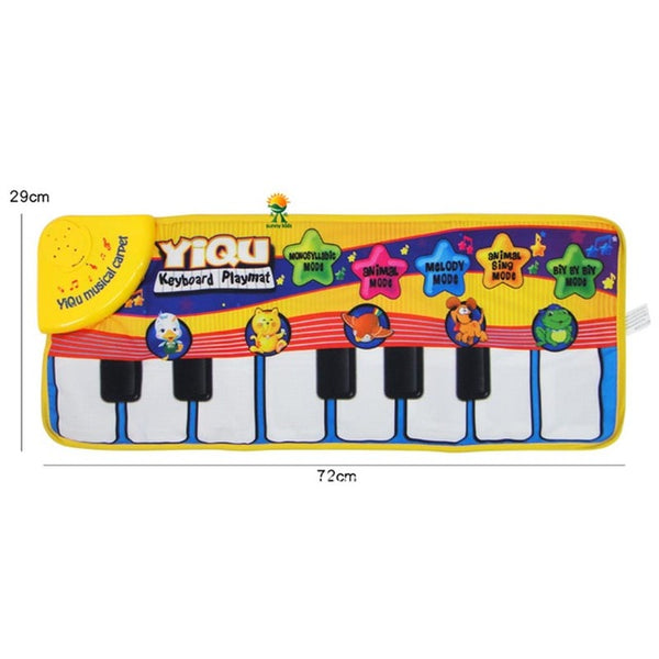 Baby Piano With Funny Music Crawling Mat-Shopper Baby