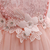 Flower Baby Girl Party Dress-Shopper Baby